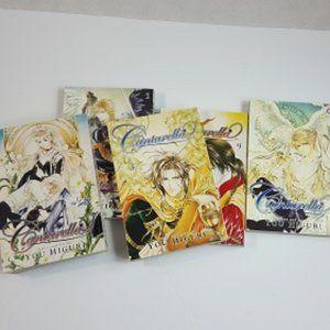 Cantarella Manga, Volumes 1,3,6,8,9 Good Condition